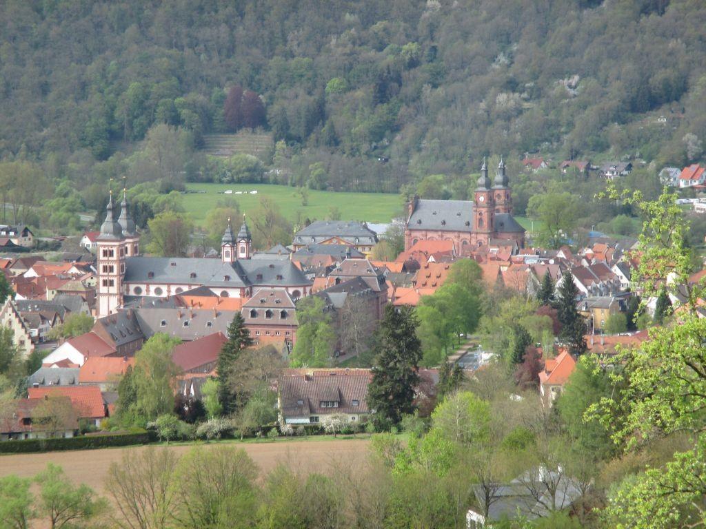 Blick auf Amorbach vom Beuchener Berg